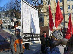 Самарского коммуниста Сталина оштрафовали на 10 тыс. руб. за плакат против губернатора