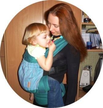 эргономичный рюкзак Гусленок ребенок 2 года