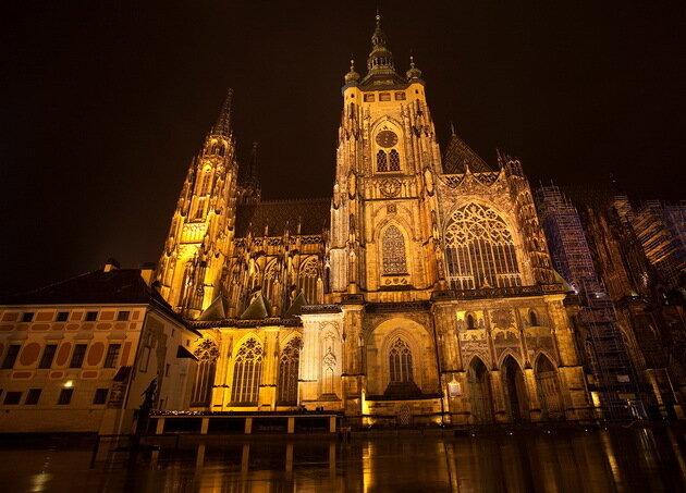 Собор святого Вита. Прага, Чехия