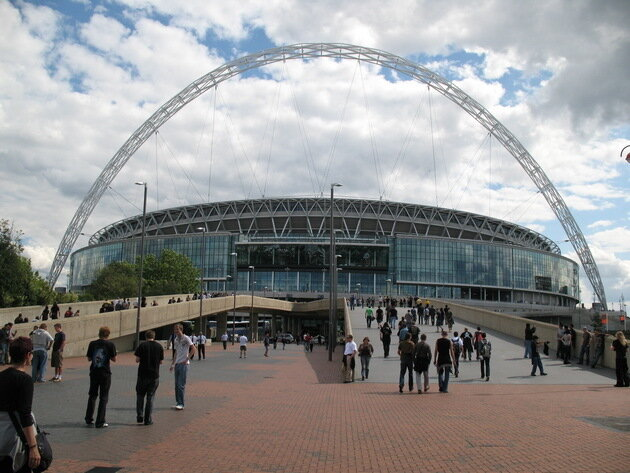 Стадион Уэмбли. Лондон