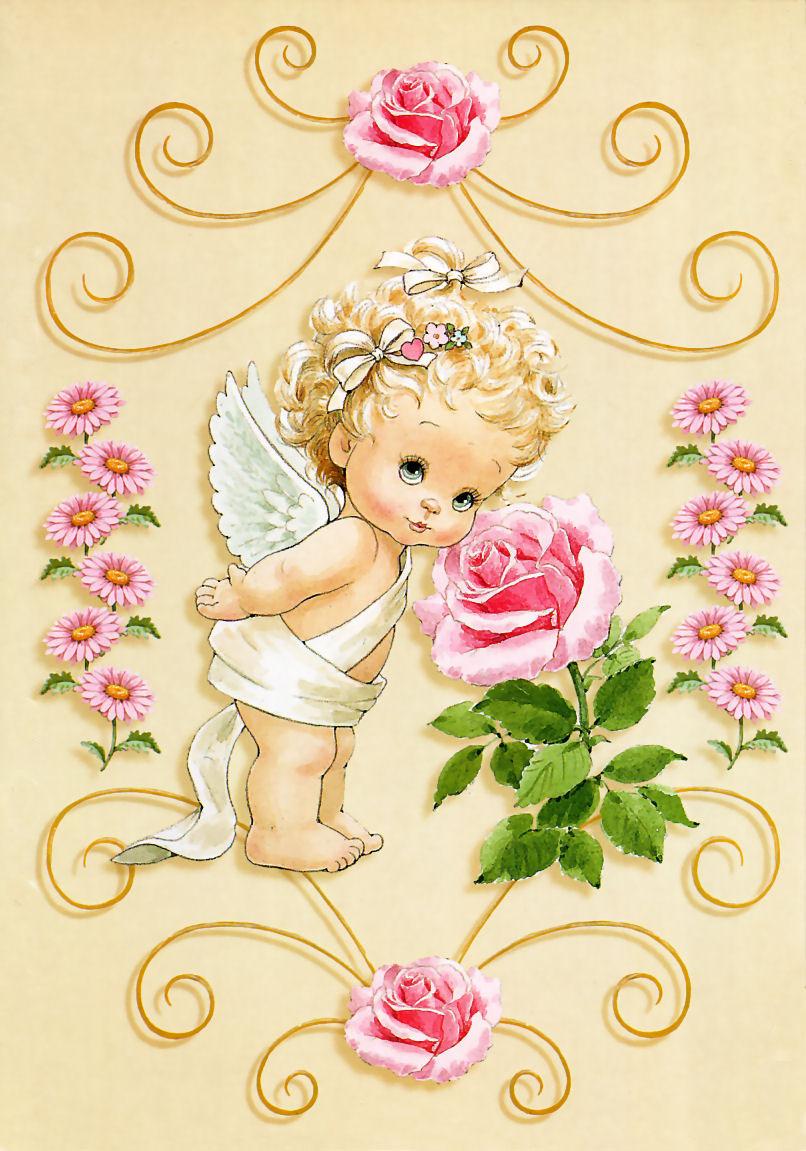 Открытки для ангелочков