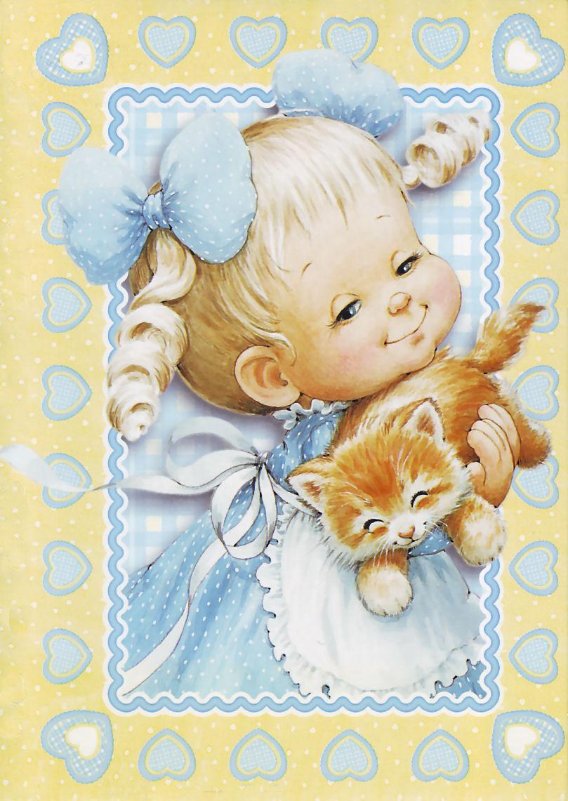 открытки деткам школой