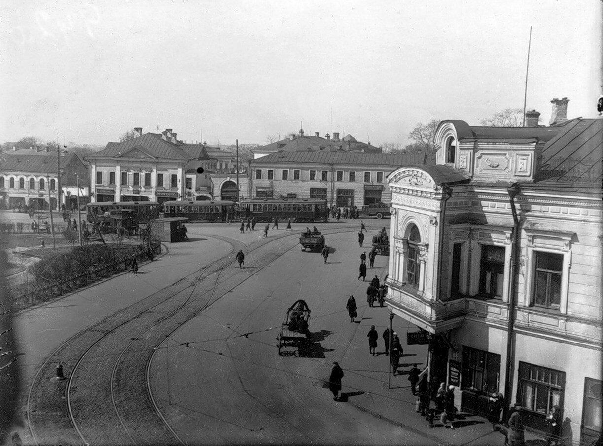 1940. Таганская площадь