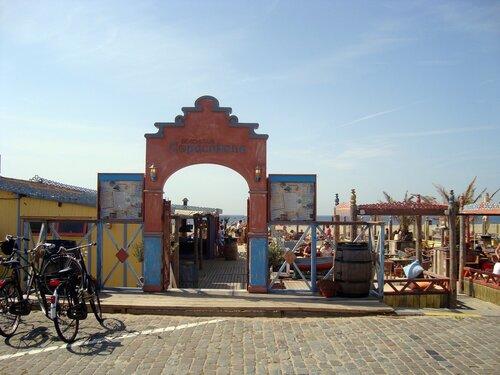 Вход на пляж в Гааге