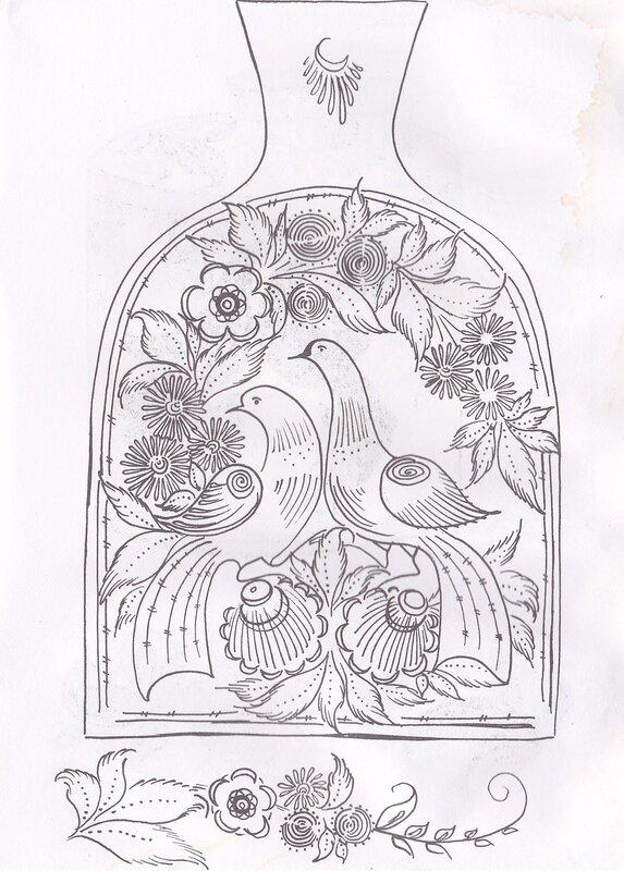 Декоративно-прикладное искусство картинки карандашом