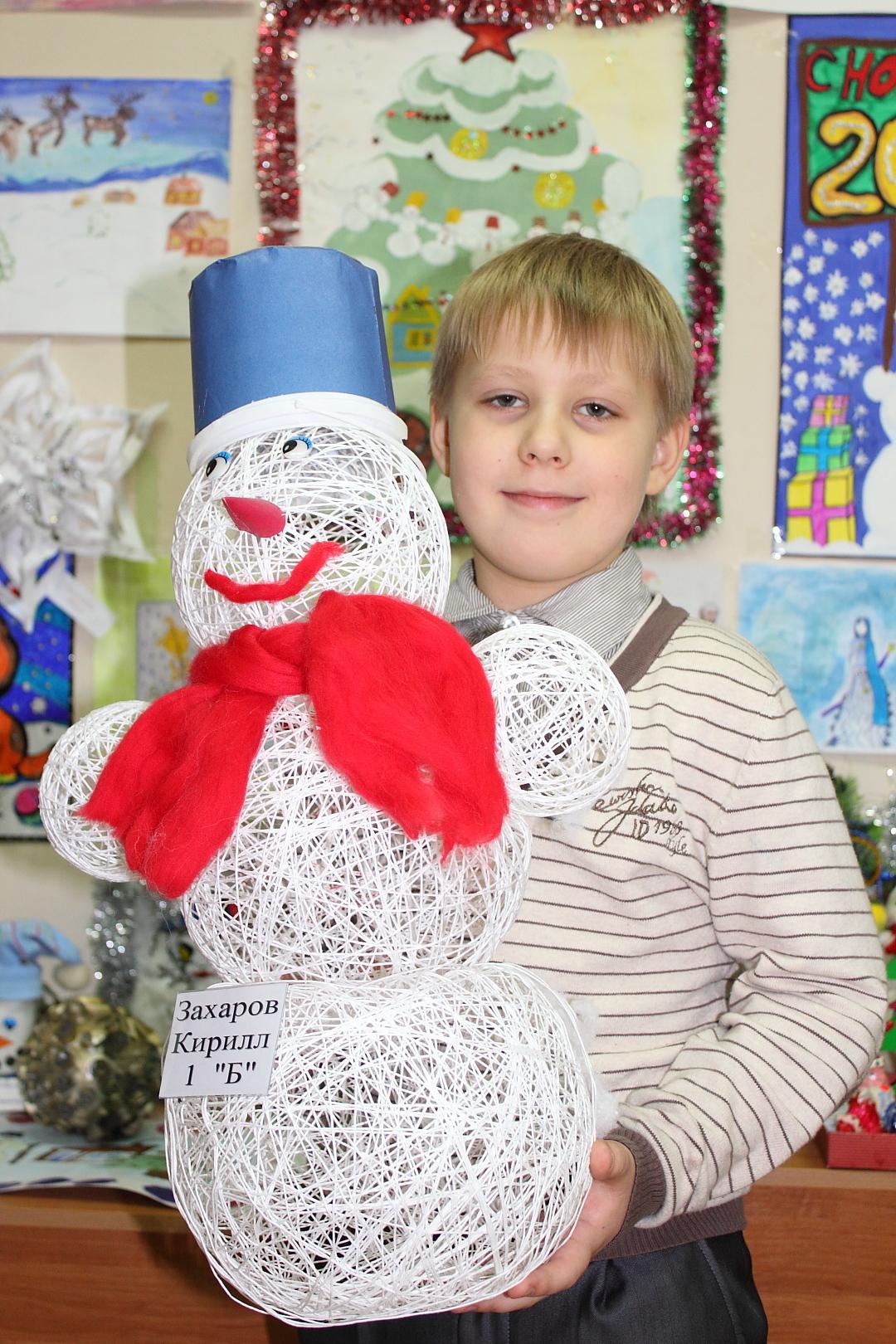 Зимние поделки в детский сад 669