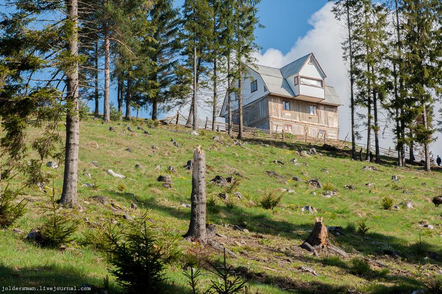 дом в горах карпаты