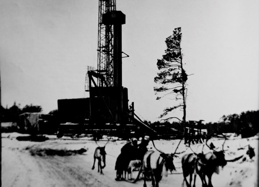 Рисунки фотографии нефтяных вышек прошлых годов можно вычислить