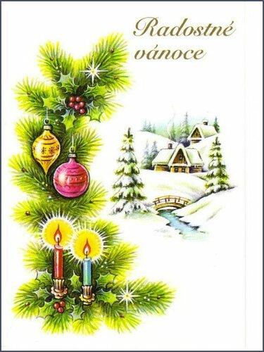 Чехия. 1996 г. Радостного Рождества !