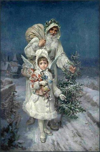С Рождеством ! Антонио Гарсиа. Воспоминание о Рождестве