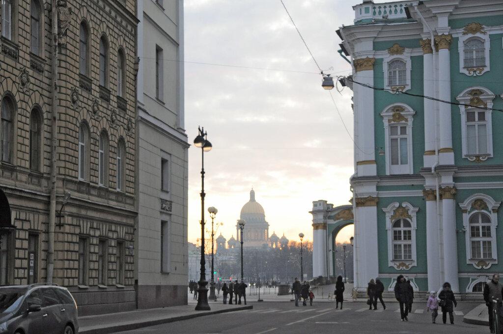 1 января в Санкт-Петербурге