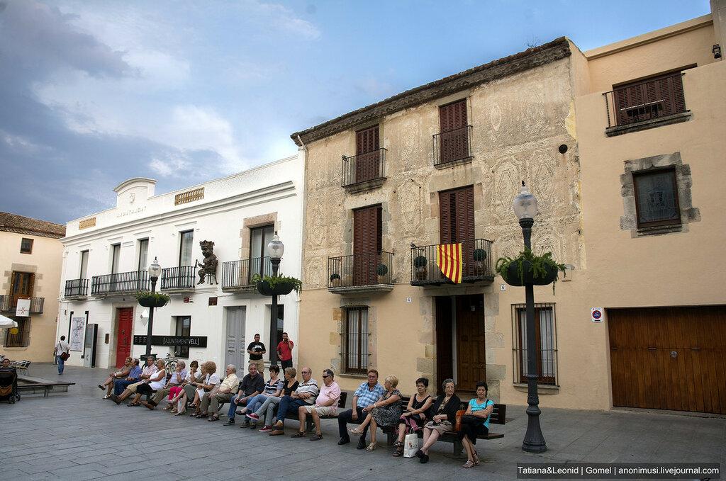 Прогулка по Калелье. Испания.