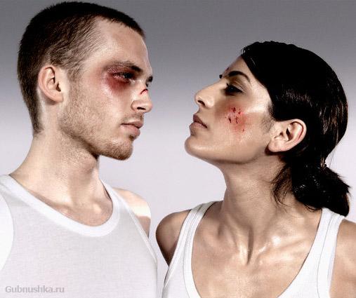 Вправе ли женщина бить мужчину?