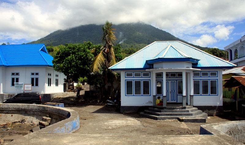 Деревня Томалу