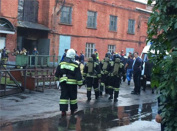 ВУльяновске произошел крупный пожар наУАЗе