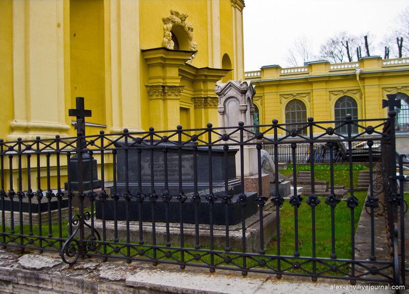 Петропавловская крепость. Комендантское кладбище.