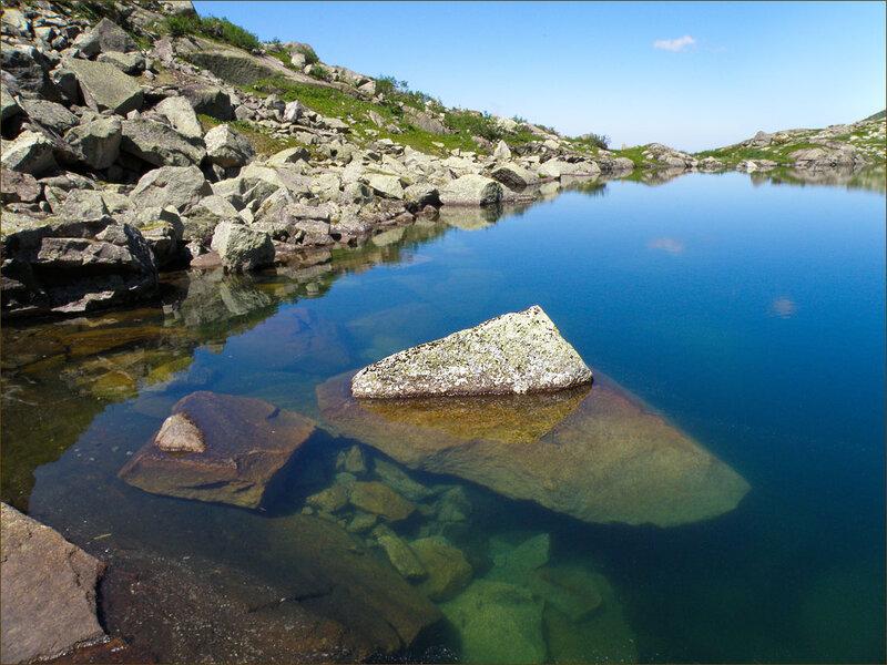 Ергаки. Озеро Сказка