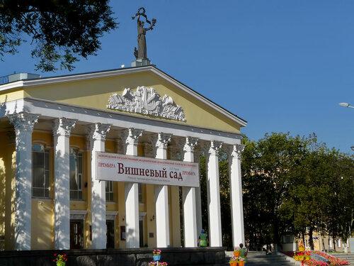 Белгород, драматический театр имени Щепкина, 2010, фото Sanchess