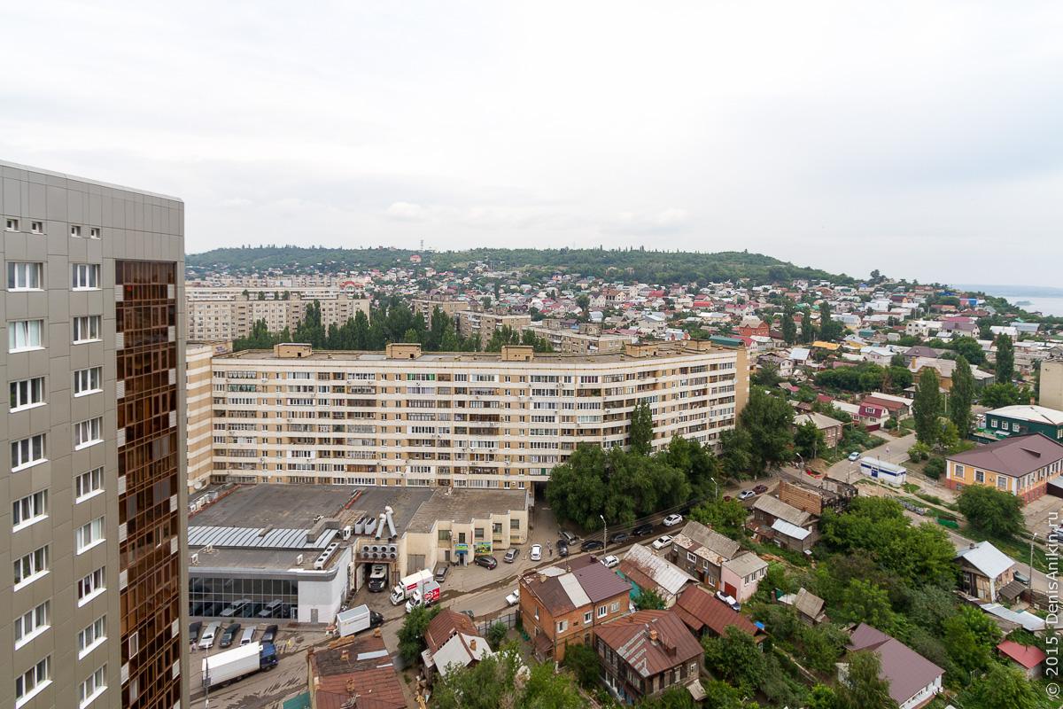 Саратов панорама крыша 2