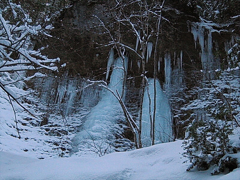 Фотограф Александр Улисский, январь 2008 , Гуамское ущелье, фотографии моих друзей