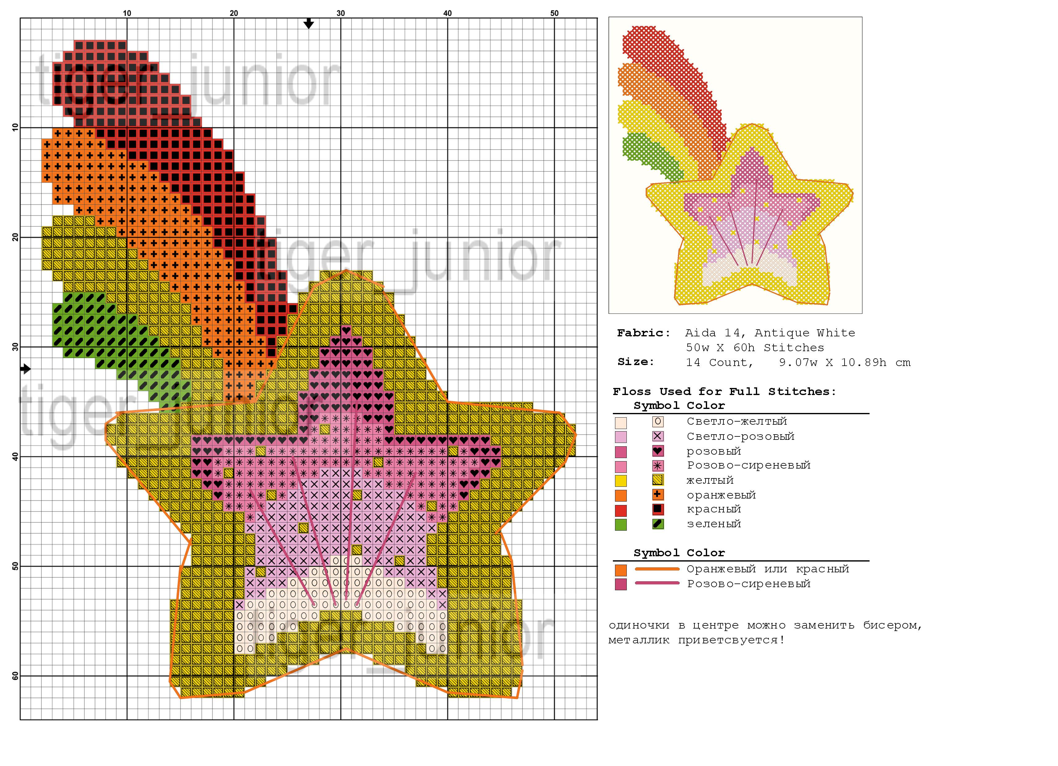Звезды схемы вышивки 43