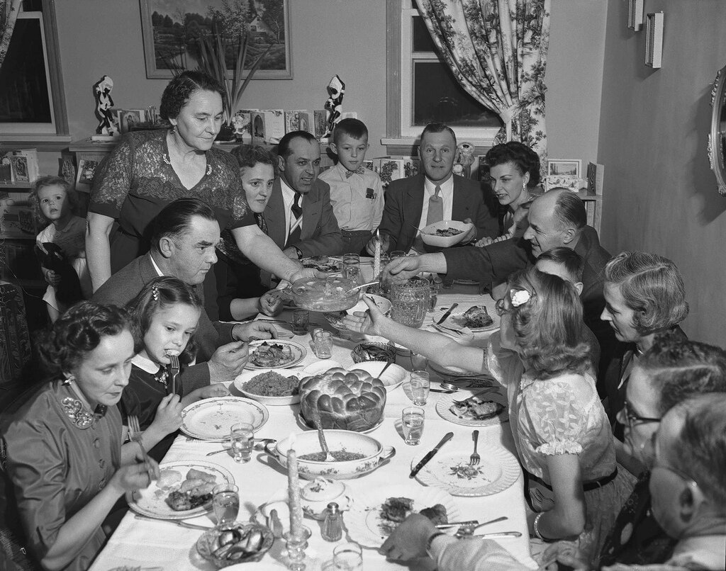 Ukrainian Christmas in Alberta 1950