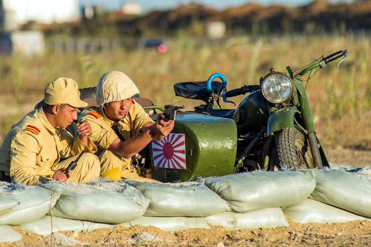 Разгром японцев на берегах Амура: Реконструкция событий времен 2-й мировой войны (17)