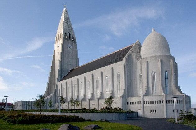Церковь Халлгримура. Исландия