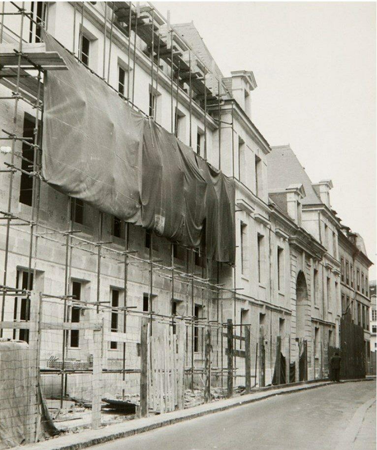 1960. Ремонт здания