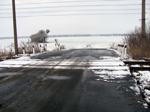 Переезд Красная Яруга - Шмыдово