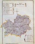Карта Волчанского округа 1787 г.