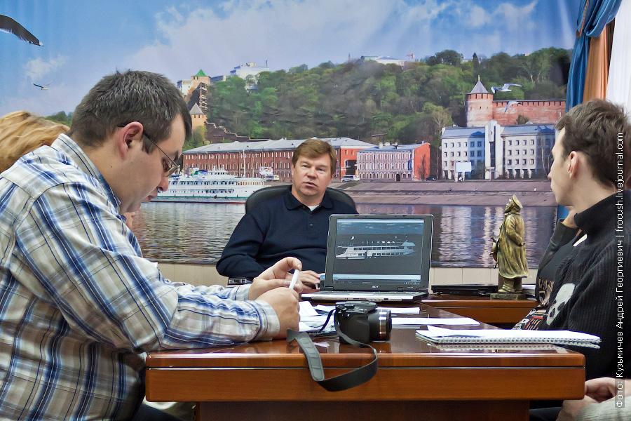 круглый стол по актуальным вопросам пассажирского флота — 2012 с участием генерального директора группы компаний «Гама» Дмитрия Николаевича Галкина