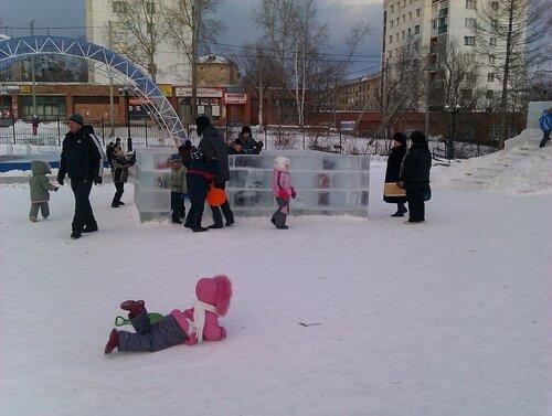 """Лабиринт в парке """"Крылатко"""""""