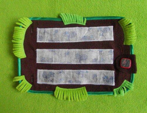 Детский развивающий коврик Овощная радость... основа