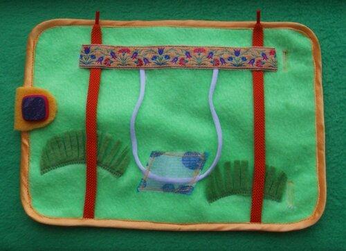 Развивающий коврик для детей... основа коврика