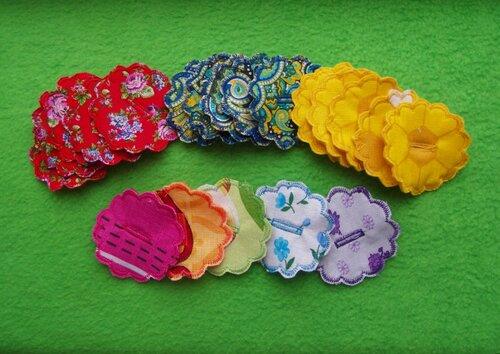 Развивающий коврик для детей Моулвиль... цветы из ткани
