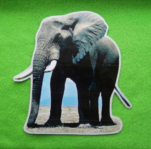 Развивающий коврик для детей Цирк... карточка Слон
