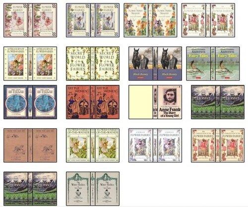 Miniature Book Cover Printables ~ Миниатюрные обложки для книг газеты и журналы Обсуждение