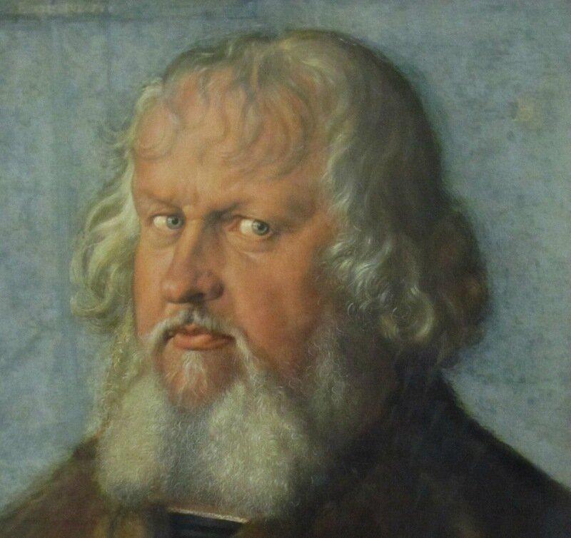 Дюрер. Портрет Иеронимуса Хольцшухера. 1526