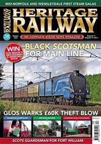 Журнал Журнал Heritage Railway №153 (2010 / UK)