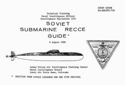 Книга Soviet Submarine Recognition Guide - 1984