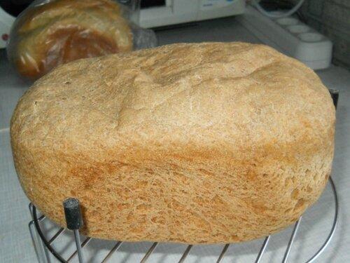 Пшенично - ржаной хлеб (рецепт с упаковки ржаной муки Кудесница)