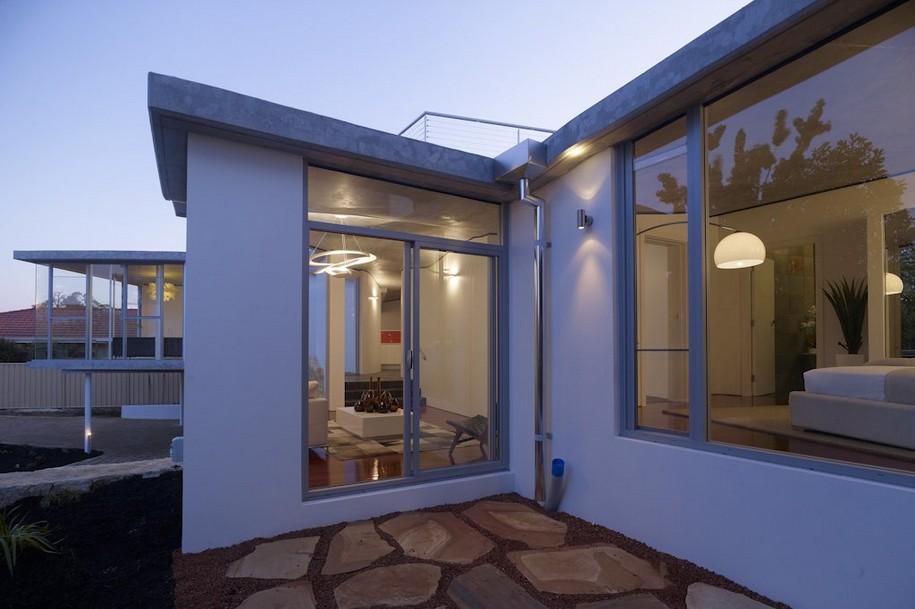 Необычная форма Aldritch Residence в Австралии