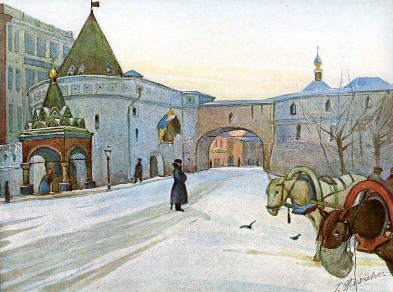 Варварские ворота. Г. Жизневский.