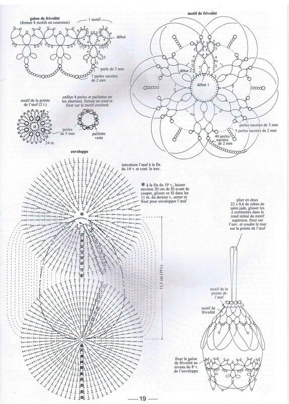 Для любительниц вязания крючком предлагаю замечательный журнал со схемами по обвязыванию яиц к Пасхе.