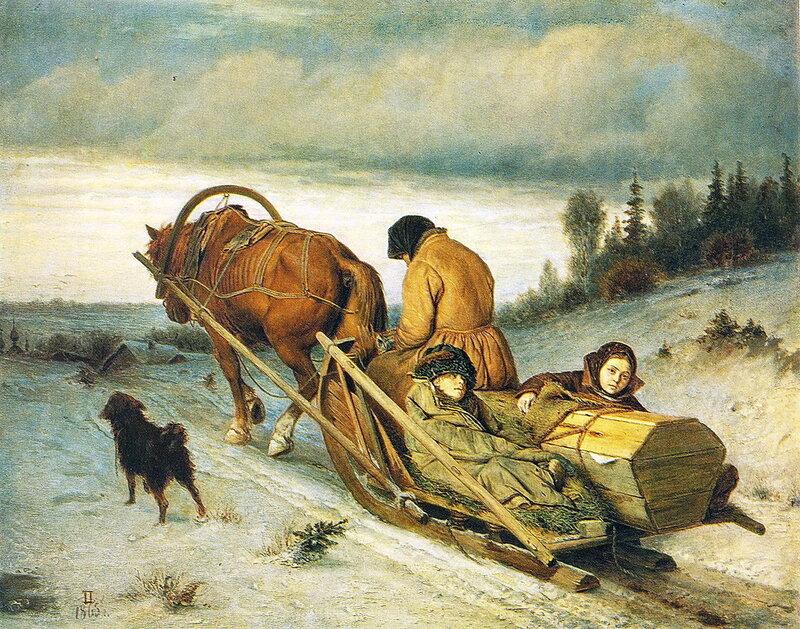 002. Проводы покойника. 1865