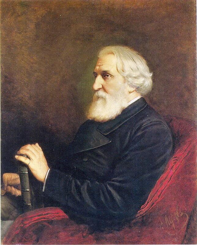 Василий Перов 1834 - 1882. Портрет писателя И.С.Тургенева. 1872