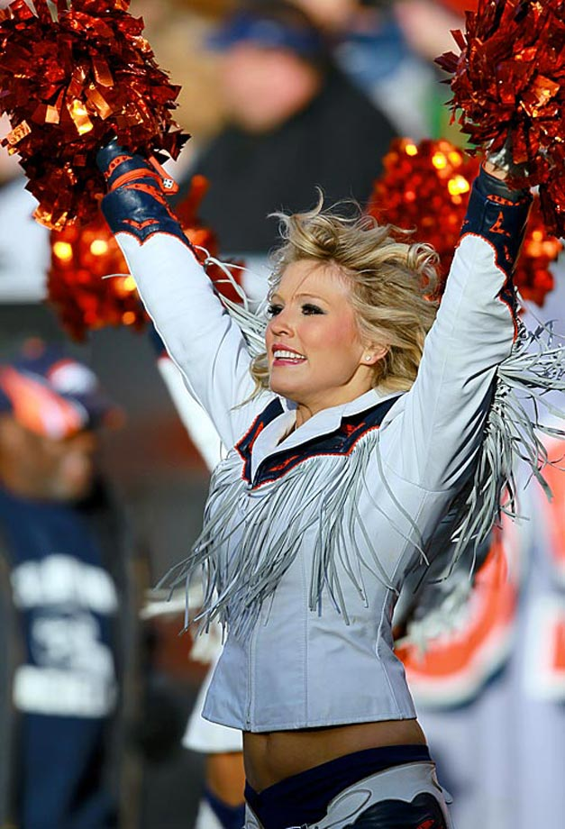 NFL Christmas 2011 Cheerleaders - Denver Broncos