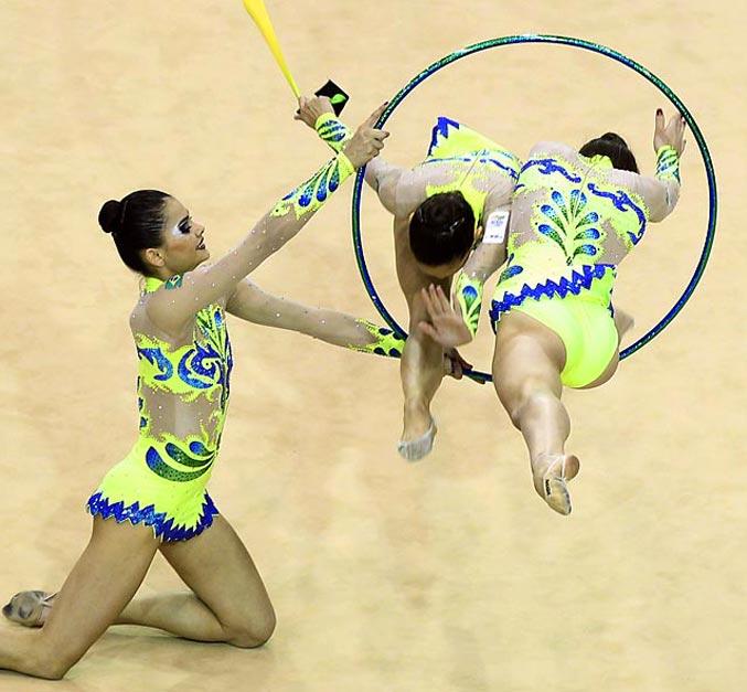 спортивный год 2011 - сборная Бразилии по художественно гимнастики