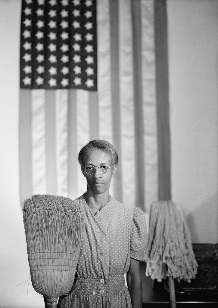 American Gothic by Photographer Gordon Parks